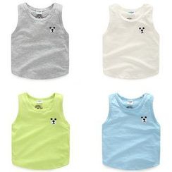 WellKids - Kids Embroidery Tank Top