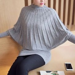 Dream Girl - Batwing-Sleeve Knit Top