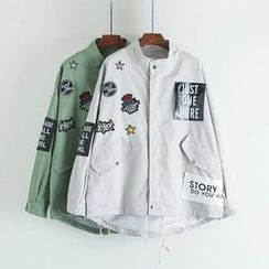 Angel Love - Patch Embroidered Jacket