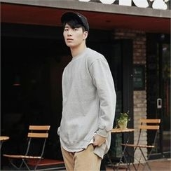 STYLEMAN - Fleece-Lined Round-Neck T-Shirt