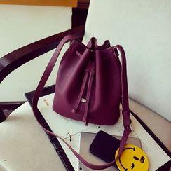 Rosanna Bags - Faux Leather Bucket Shoulder Bag