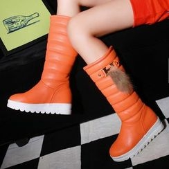 Pastel Pairs - Padded Tall Boots
