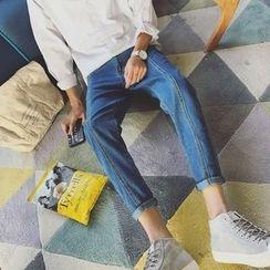 子俊 - 水洗锥形牛仔裤