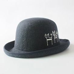 EVEN - 貓貓圖案禮帽