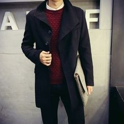 Ekinbrown - Woolen Long Coat