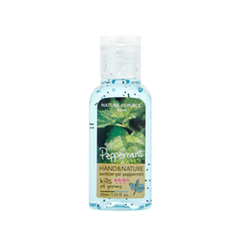 Nature Republic - Hand And Nature Sanitizer Gel (Ethanol) - Peppermint 30ml