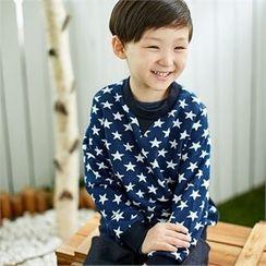 URAVI - Star Print Sweatshirt
