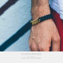 Newin - Two-Tone Woven Bracelet