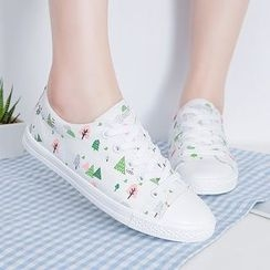 Renben - Canvas Lace Up Sneakers