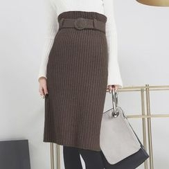 Sonne - 毛线半身裙