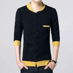 JEUX - Panel Knit Jacket