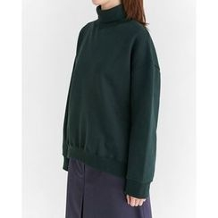 Someday, if - Mock-Neck Sweatshirt