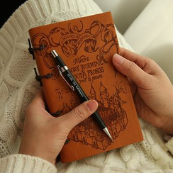 Nina's House - Faux-Leather Cover Notebook (S)