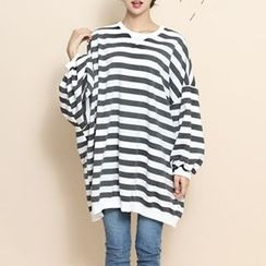 MayFair - Stripe Loose-Fit T-Shirt