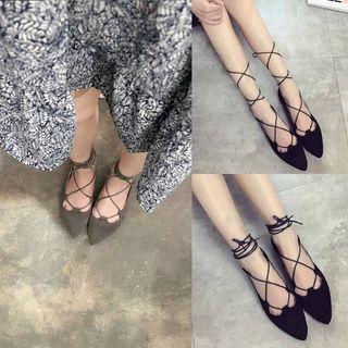 Chryse - Strappy Flats