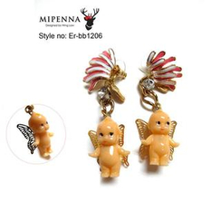 MIPENNA - Baby Butterfly Fairy - Earrings