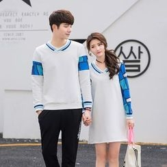Je T'aime - Couple Matching Pullover / Pullover Dress