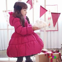 Cuckoo - 小童连帽夹棉大衣