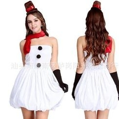 Gembeads - Snowman Party Costume