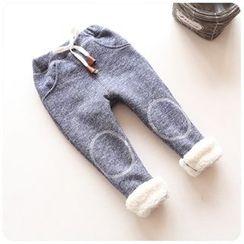 Rakkaus - Kids Fleece-Lined Drawstring Pants