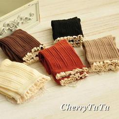 CherryTuTu - Frill-Trim Socks