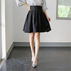 Styleberry - Pleated Midi Skirt