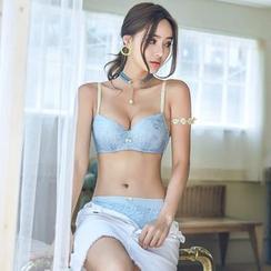 Saacheer - Set: Lace Bra + Panty