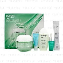 Biotherm 碧欧泉 - Aquasource Set: Aquasource Gel 50ml + Micellar Water 30ml + Body Milk 10ml + Deep Serum 7ml + Eye Perfection 4ml