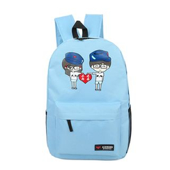 Jackpot Queen - Printed Canvas Backpack