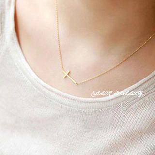 Clair Fashion - Cross Necklace