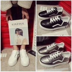 Tina Nini - Two-Tone Sneakers