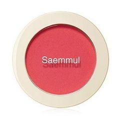 The Saem - Saemmul Single Blusher (#PK01 Bubble Gum Pink)