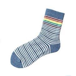 LIFEDIFF - Set of 3: Striped Socks