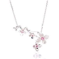 Bellini - Tourmaline Plum Necklace