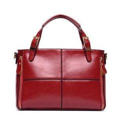 LineShow - Faux-Leather Handbag