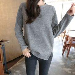 Hello sweety - Brushed Fleece Lined T-Shirt