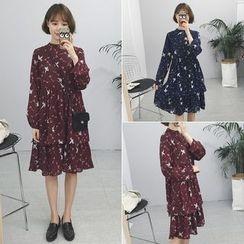 Windflower - Printed Chiffon Dress