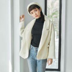 AC - V-Neck Wool Jacket
