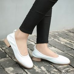 Monde - Block Heel Pumps