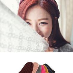 Bongjashop - 羅紋針織無邊帽