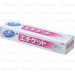 LION - Etiquette Toothpaste