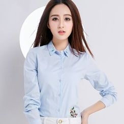 Eferu - 刺绣衬衫