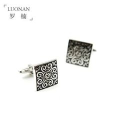 Luonan - Patterned Cuff Link