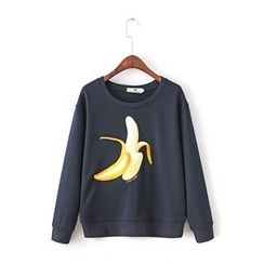 Ainvyi - Embroidered Sweatshirt
