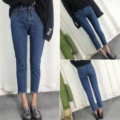 Windflower - Slim-Fit Cropped Jeans