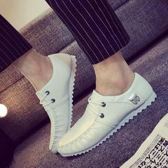 Solejoy - Contrast-Color Deck Shoes