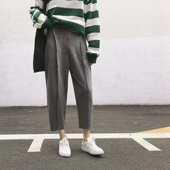 Windflower - 九分錐形褲