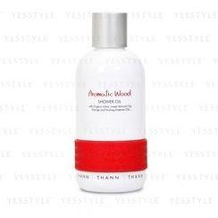 THANN - Aromatic Wood Shower Oil