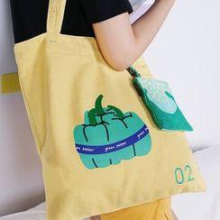 KIITOS - 果蔬系列印花帆布手提包