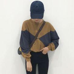 Bloombloom - Panel Sweatshirt